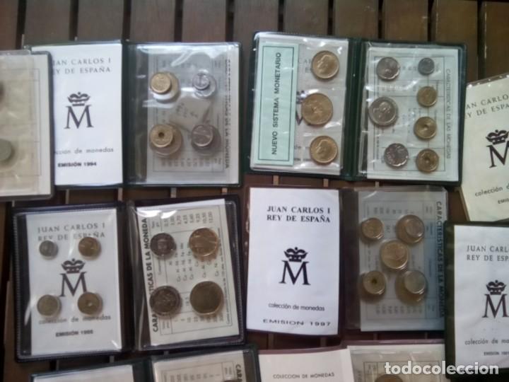 Monedas de España: LOTE DE 11 CARTERAS MONEDAS DIFERENTES AÑOS F.N.M.T.VER - Foto 8 - 276288068