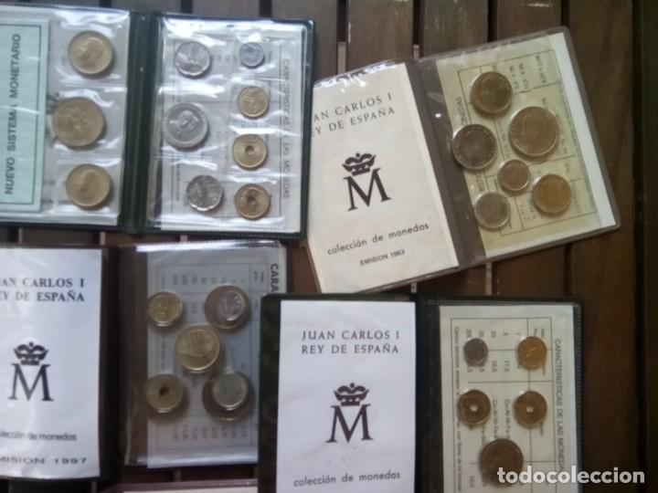 Monedas de España: LOTE DE 11 CARTERAS MONEDAS DIFERENTES AÑOS F.N.M.T.VER - Foto 9 - 276288068