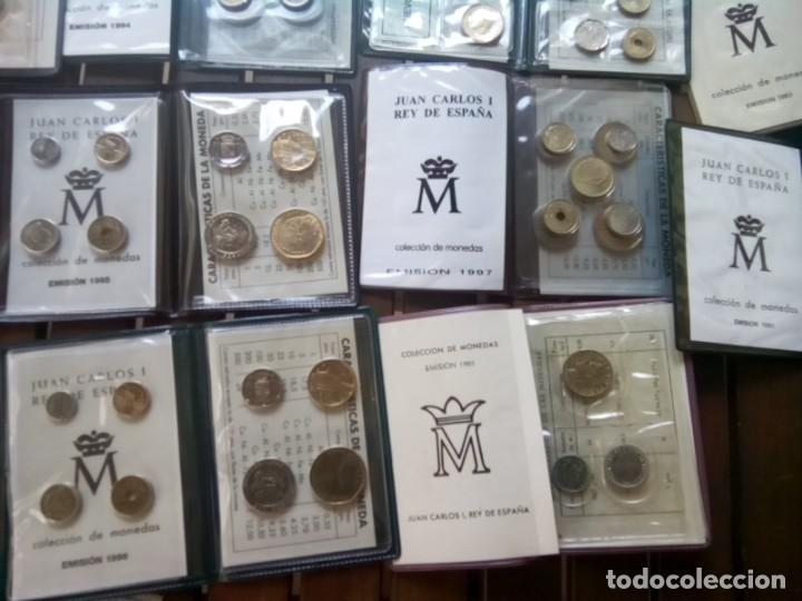 Monedas de España: LOTE DE 11 CARTERAS MONEDAS DIFERENTES AÑOS F.N.M.T.VER - Foto 10 - 276288068