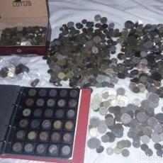 Monedas de España: MAGNIFICO GRAN LOTE DE 11KG DE MONEDAS ESPAÑOLAS Y EXTRANJERAS VARIOS AÑOS. Lote 276591218