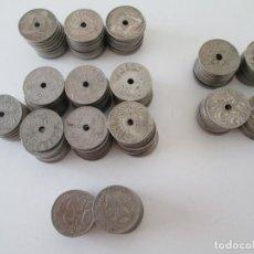 Monedas de España: LOTE DE 150 MONEDAS DE 25 CENTIMOS DE ALFONSO XIII - REPUBLICA - ESTADO ESPAÑOL. Lote 276782723