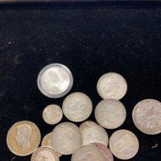 Monedas de España: LOTE DE MONEDAS DE PLATA. Lote 276807198