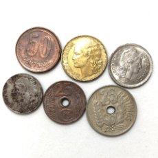 Monedas de España: II REPUBLICA Y GUERRA CIVIL. 6 MONEDAS ACUÑADAS ENTRE 1934 Y 1938.. Lote 279570573