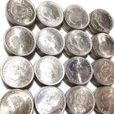 Monedas de España: 5 PESETAS DE 1975 *76. LOTE DE 100 MONEDAS. REY JUAN CARLOS 1º.. Lote 281912193