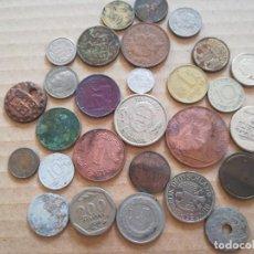 Monedas de España: SET MONEDAS DIFERENTES ESPAÑA Y OTROS PAISES. Lote 284768373