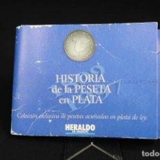 Moedas de Espanha: COLECCIÓN MONEDAS HISTORIA DE LA PESETA EN PLATA. Lote 286320383