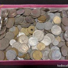 Monedas de España: FRANCO Y REY JUAN CARLOS / 4,6 KILOS DE MONEDAS / FECHAS, ESTRELLAS, VARIEDAD / DIVERSIÓN !! PUJA. Lote 288139443
