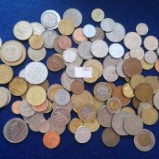 Monedas de España: LOTE 100 MONEDAS DIFERENTES DEL MUNDO 15651. Lote 288341208