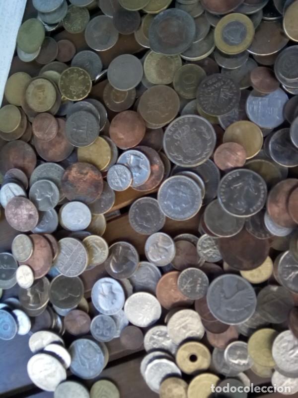 Monedas de España: CAJA CON CIENTOS DE MONEDAS EXTRANJERAS, VER - Foto 3 - 288351578