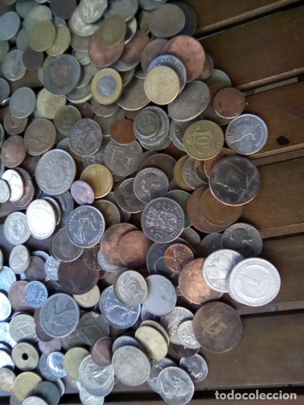 Monedas de España: CAJA CON CIENTOS DE MONEDAS EXTRANJERAS, VER - Foto 4 - 288351578