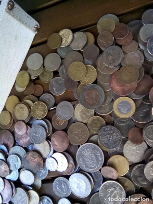 Monedas de España: CAJA CON CIENTOS DE MONEDAS EXTRANJERAS, VER - Foto 5 - 288351578