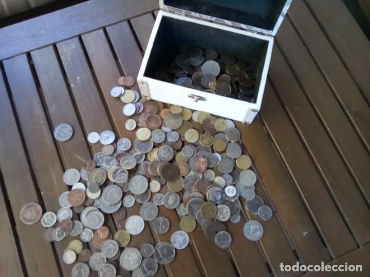 Monedas de España: CAJA CON CIENTOS DE MONEDAS EXTRANJERAS, VER - Foto 6 - 288351578