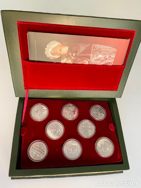 Monedas de España: EL INGENIOSO HIDALGO DON QUIJOTE , 26 MEDALLAS DE PLATA ESTUCHE LIBRO , ACUÑACIONES IBERICAS - Foto 5 - 288458178