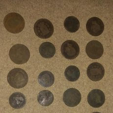Monedas de España: LOTE DE MONEDAS ANTIGUAS (SIGLO XIX) DE ESPAÑA. Lote 288466078