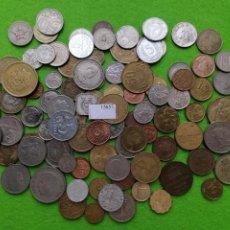 Monedas de España: LOTE 100 MONEDAS DIFERENTES DEL MUNDO 15657. Lote 289238523