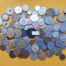 Monedas de España: LOTE 100 MONEDAS DIFERENTES DEL MUNDO 15659. Lote 289356073