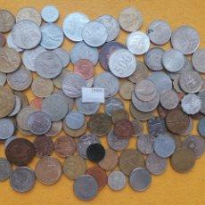 Monedas de España: LOTE 100 MONEDAS DIFERENTES DEL MUNDO 15660. Lote 289440738
