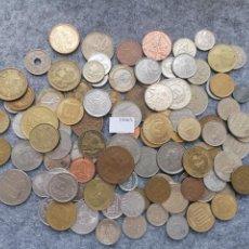 Monedas de España: LOTE 100 MONEDAS DIFERENTES DEL MUNDO 15663. Lote 289445088