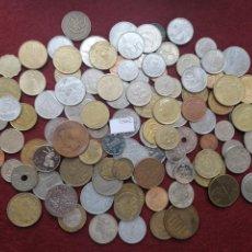 Monedas de España: LOTE 100 MONEDAS DIFERENTES DEL MUNDO 15662. Lote 289445223