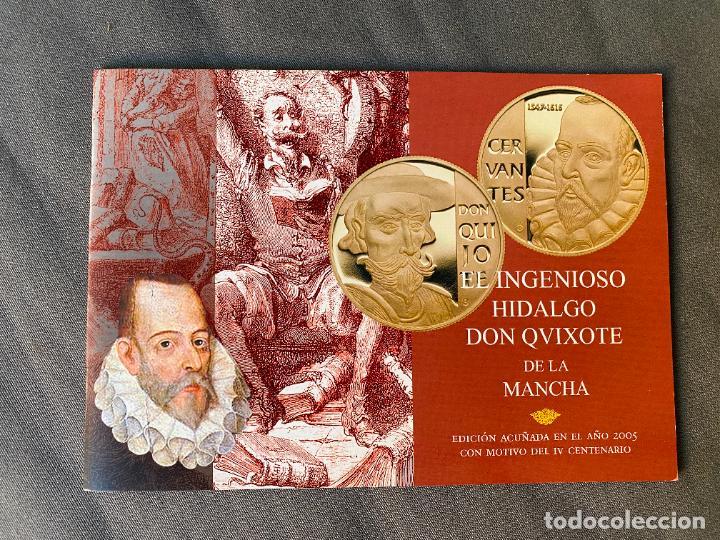 Monedas de España: EL INGENIOSO HIDALGO DON QUIJOTE , 26 MEDALLAS DE PLATA ESTUCHE LIBRO , ACUÑACIONES IBERICAS - Foto 8 - 288458178