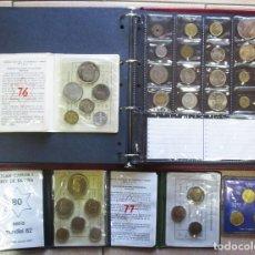 Monedas de España: ALBUM NUMISMATICO CONTENIENDO 73 MONEDAS ESPAÑOLAS Y EXTRANJERAS ANTIGUAS Y MAS. LOTE 3902. Lote 291178798