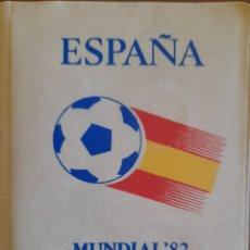 Moedas de Espanha: CARTERITA MONEDAS MUNDIAL 82 - ESTRELLA 81- 4 MONEDAS JUAN CARLOS I. Lote 292947893
