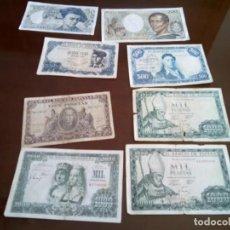 Monedas de España: LOTE DE 8 BILLETES , VER FOTOS Y DESCRIPCION. Lote 293233738