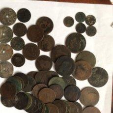 Monedas de España: LOTE DE MONEDAS DE ESPAÑA. DE ALFONSO XII Y REPUBLICA 312GRAMOS.. Lote 295816603