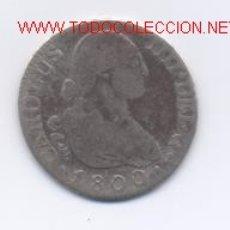 Monedas de España: CARLOS IV- 2 REALES-1800. Lote 850135