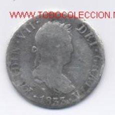 Monedas de España: FERNANDO VII- 2 REALES- 1833-. Lote 853633