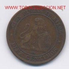 Monedas de España: GOB.PROVISIONAL- 10 CENTIMOS-1870. Lote 853926