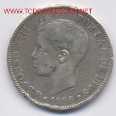 Monedas de España: ALFONSO XIII- 5 PESETAS-1899. Lote 855850