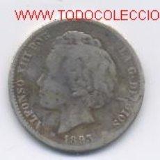 Monedas de España: ALFONSO XIII- 1 PESETA- 1893-. Lote 857636