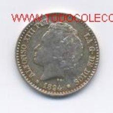 Monedas de España: ALFONSO XIII- 50 CENTIMOS- 1894*9-4-PGV. Lote 868517