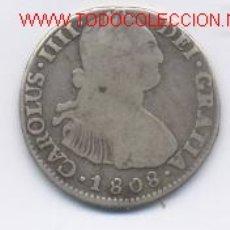 Monedas de España: CARLOS IV- 2 REALES- 1808-. Lote 873277