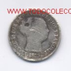 Monedas de España: ISABEL II- 2 REALES- 1853. Lote 885447