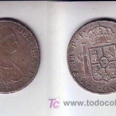 Monedas de España: 383-CARLOS IIII. 8 REALES. POTOSÍ PJ. 1808. EBC+/EBC. Lote 25163486