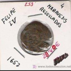 Monedas de España: FELIPE IV 4 MARAVEDIS RESELLADA . Lote 10507914