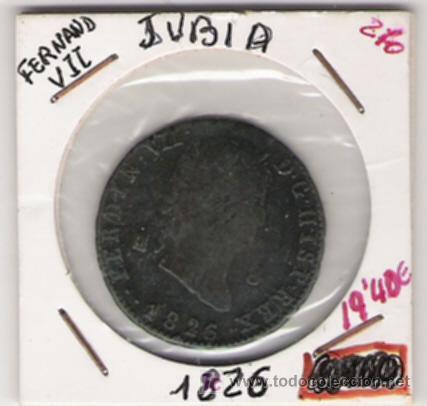 FERNANDO VII 8 MARAVEDIS JUBIA (Numismática - España Modernas y Contemporáneas - De Reyes Católicos (1.474) a Fernando VII (1.833))