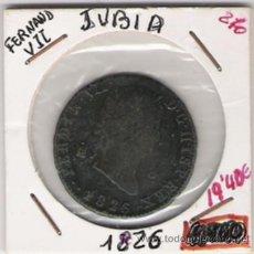 Monedas de España: FERNANDO VII 8 MARAVEDIS JUBIA. Lote 10090026