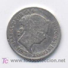 Monedas de España: ISABEL II- 2 REALES- 1863- SEVILLA. Lote 7477016