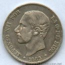 Monedas de España: BONITA MONEDA DE 2 PESETAS DE PLATA DE ALFONSO XII. AÑO 1882*18*82. Lote 26943213