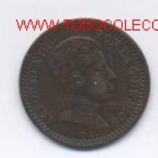 Monedas de España: 471- ALFONSO XIII- 2 CENTIMOS-1904*04-SMV. Lote 1120045