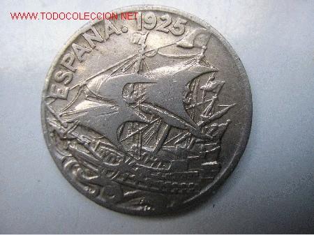 ALFONSO XIII - 25 CENTIMOS 1925 (Numismática - España Modernas y Contemporáneas - De Isabel II (1.834) a Alfonso XIII (1.931))