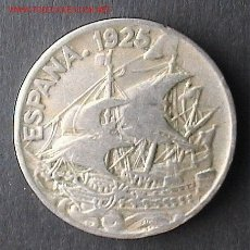 Monedas de España: MONEDA DE NIQUEL DE 25 CÉNTIMOS. ALFONSO XIII. 1925. Lote 27608314