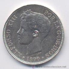 Monedas de España: ALFONSO XIII- 5 PESETAS- 1899*18-99-SGV. Lote 10012080