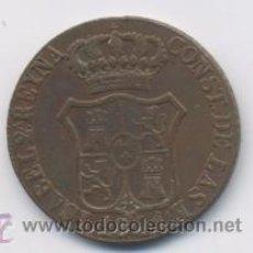 Monedas de España: ISABEL II- 6 CUARTOS-1841-CATALUÑA. Lote 11754390