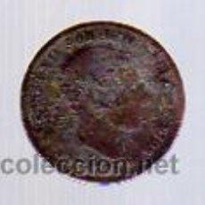 Monedas de España: 5 CÉNTIMOS - COBRE - 1878 BARCELONA OM (ALFONSO XII).. Lote 12285721