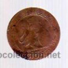 Monedas de España: 5 CÉNTIMOS 1870 - COBRE -GOBIERNO PROVISIONAL-.. Lote 12342895