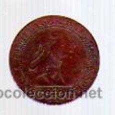 Monedas de España: 5 CÉNTIMOS 1870 - COBRE -GOBIERNO PROVISIONAL-.. Lote 12343049